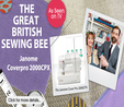 Janome CoverPro 2000 CPX Coverstitch. Save £50. Limited Offer Cover Hem 9