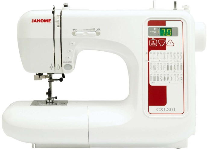 Janome CXL301 Computerised Sewing Machine Sewing Machine
