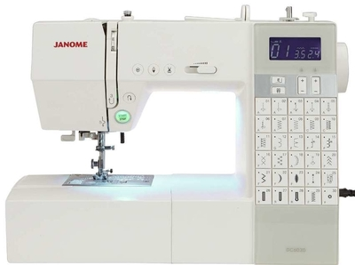 Janome DC6030 Computerised Sewing Machine Ex Display. Normally £499, Save £100 + Free JQ2 Quilting Kit Worth £119