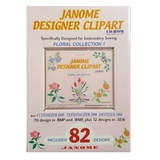 Janome Designer Clipart Floral Collection 1