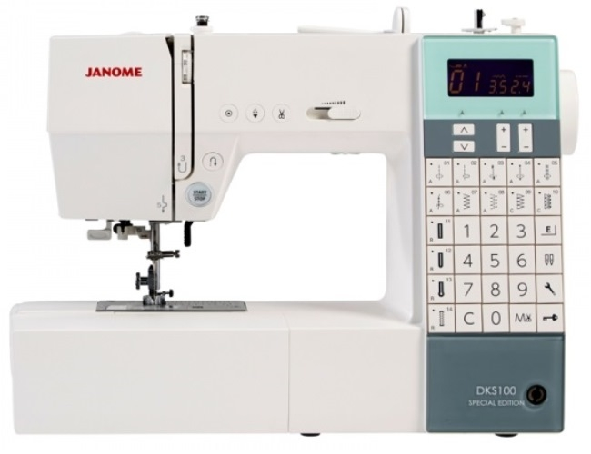 Janome DKS100 Special Edition Computerised Sewing Machine Sewing Machine