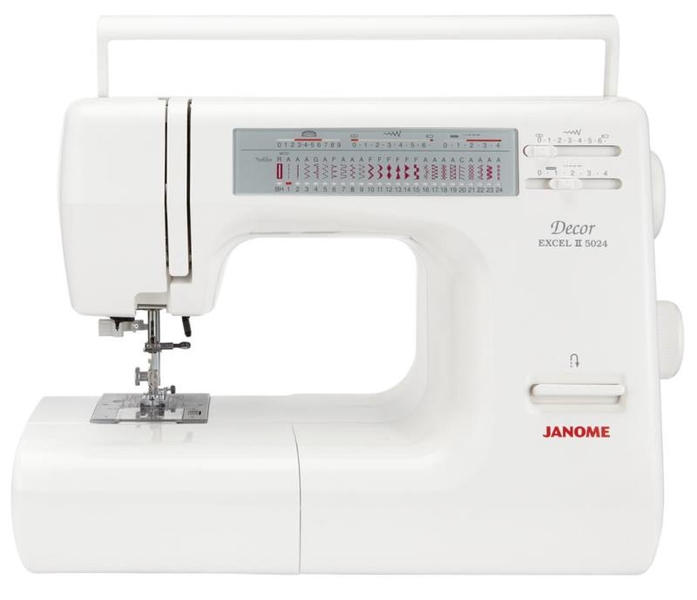 Janome Excel 5024 Sewing Machine Ex Display Sewing Machine