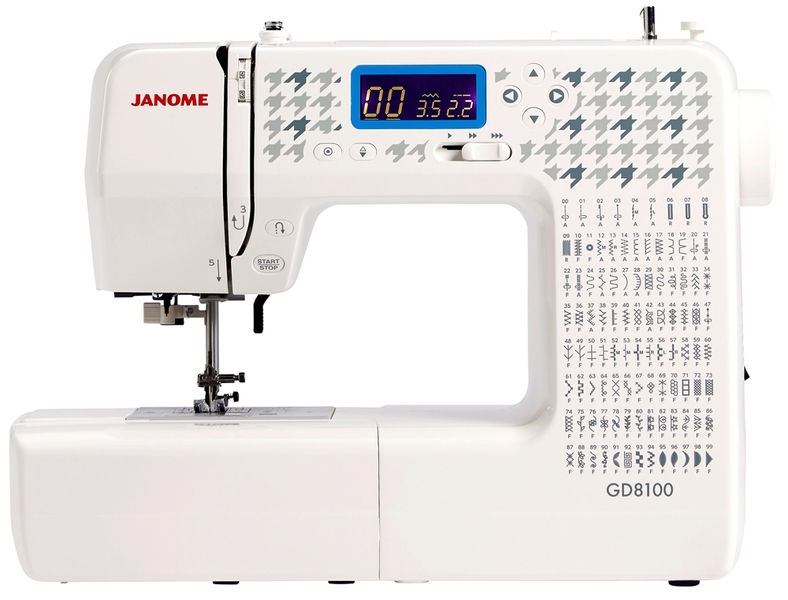 Janome GD8100 Computerised Sewing Machine Sewing Machine