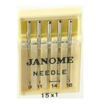 Janome HA 15X1 Standard Assorted Needles