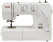 Janome J3-18 Sewing Machine Box Damaged