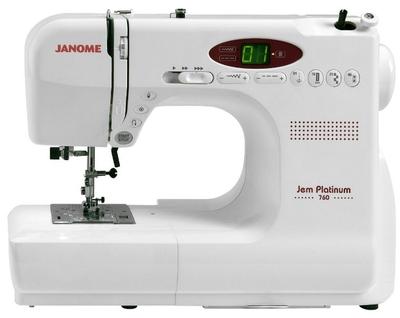 Janome Jem Platinum JP760