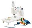 Janome M100 QDC Computerised Sewing Machine. Save £60. Limited Offer. Extra Wide Table Included & Bonus Pack worth £59 Sewing Machine 4