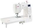 Janome M200 QDC Computerised Sewing Machine. Extra Wide Table Included & Bonus Pack worth £59. Was £639, Save £70. Sewing Machine 4