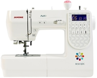 Janome M50 QDC Computerised Sewing Machine. Wide Table & Bonus Pack Included