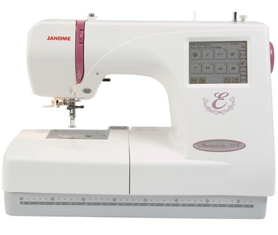 Janome Memory Craft 350E Ex Demonstrator