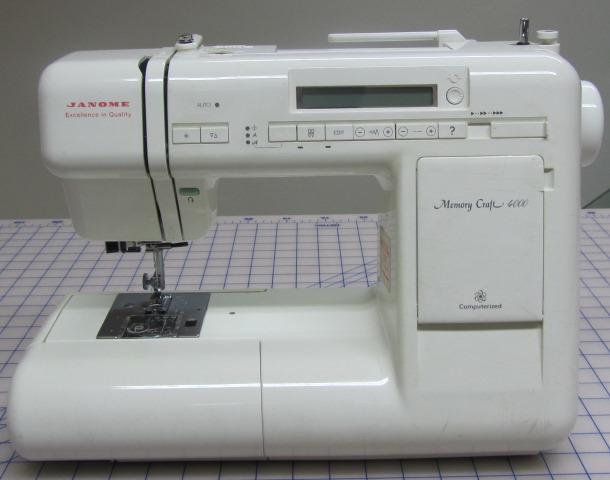 janome memory craft 4000 sewing machine