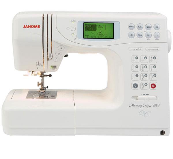 Janome Memory Craft 4900QC Sewing Machine | Buy Sewing ...