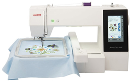 Janome Memory Craft 500E Embroidery Machine. Was £1499, Save £200 Plus FREE Digitizer JR (usually £349)