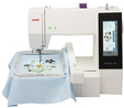 Janome Memory Craft 500E Embroidery Machine. Was £1499, Save £200 Plus FREE Digitizer JR (usually £349) Embroidery Machine