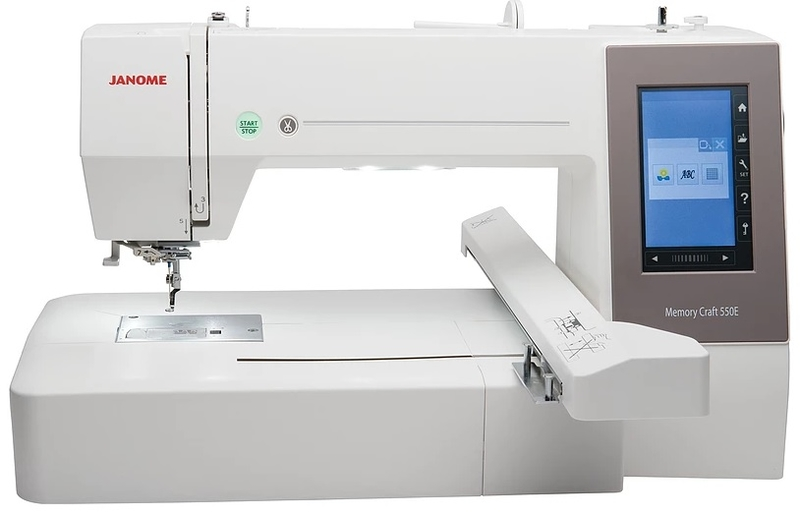 Janome Memory Craft 550E Embroidery Machine Embroidery Machine
