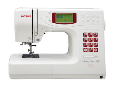 Janome Memory Craft 5900QC Display Model