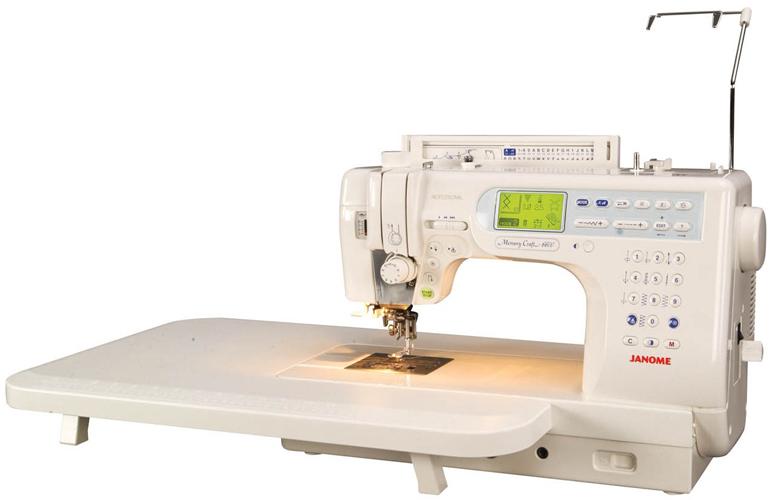 janome memory craft sewing machine 6600p
