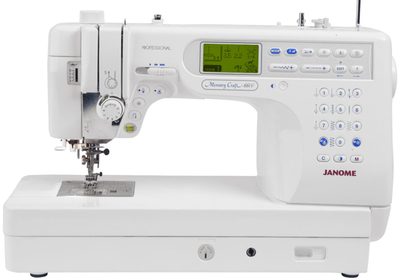 Janome Memory Craft 6600P Sewing Machine