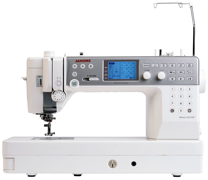 Janome Memory Craft 6700P Professional Sewing Machine. Save £200. Limited Offer Sewing Machine