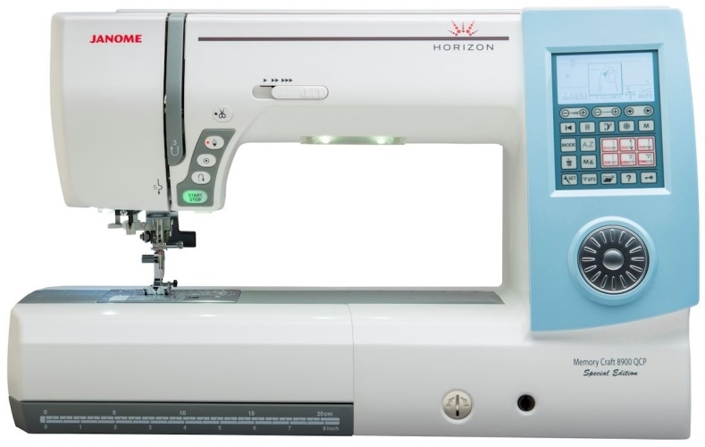 Janome Memory Craft Horizon 8900QCP Special Edition Computerised Sewing Machine. Save £650. Limited Offer Sewing Machine
