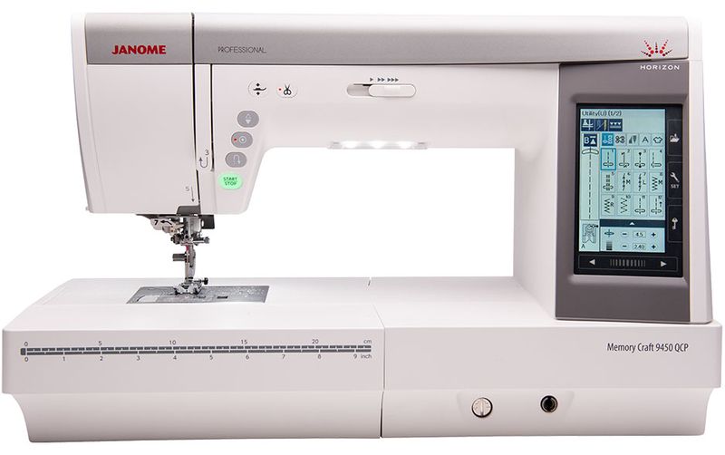 Janome Memory Craft 9450 QCP Sewing Machine Sewing Machine