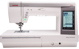 Janome Memory Craft 9450 QCP Sewing Machine. Normally £2399, Save £200. FREE Thread Spool Stand & Madeira Threads worth £170.
