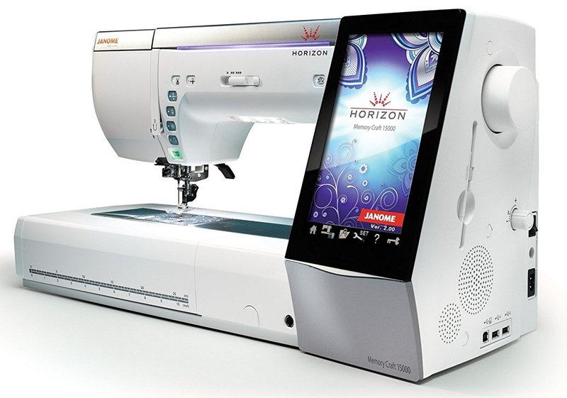 Janome Memory Craft Horizon 15000 V2 Quilt Maker Sewing
