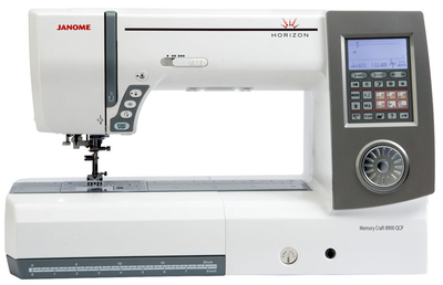 Janome Memory Craft Horizon 8900QCP Sewing Machine