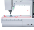 Janome Memory Craft Horizon 9400QCP Sewing Machine 4