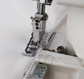 Janome 202041108 | Overlock Beading Attachment & Beading Foot