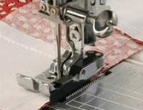 Janome 1/4 Inch Seam Foot O (Cat D)