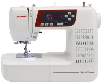 Janome QXL605 Sewing Machine