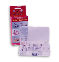 Janome Rotary Even Foot and Attachments