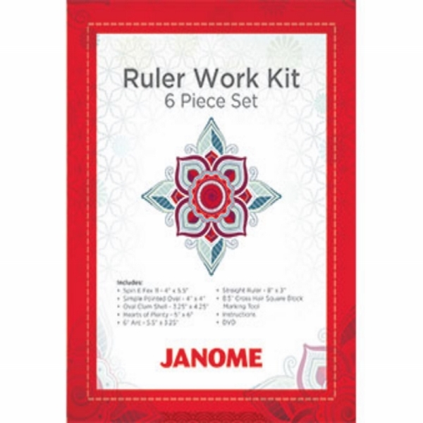 Janome Ruler Work Kit Mc15000 Janome Category D Spares