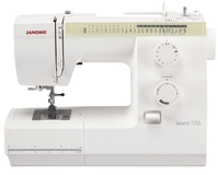 Janome 725S Sewing Machine. Great British Sewing Bee Model. Was £299, Save £40.