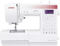 Janome 740DC Computerised Sewing Machine. Save £50. Limited Offer