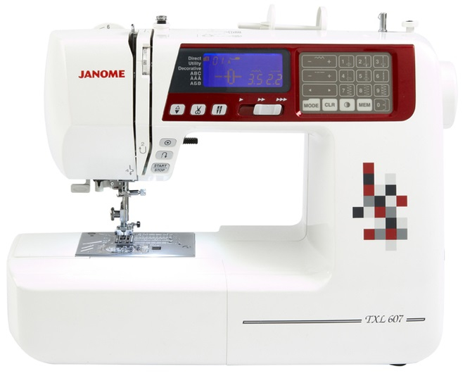 Janome TXL607 Computerised Sewing Machine + Free JQ2 Quilting Kit Worth £119 Sewing Machine