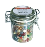 Jar of Multi-Colour Glass Beads