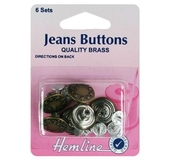 Jean Buttons 16mm Bronze