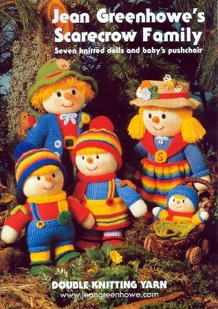 Home > Knitting & Crochet Patterns > Scarecrow Family