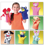 Kids Hand Puppets One Size