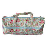 Knitting Bag Blue Rose