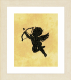 Lanarte Counted Cross Stitch Kit: Cupid II (Evenweave)