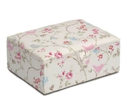 Large Birds and Flowers Sewing Box