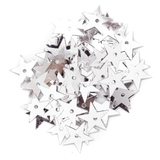 Large Stars 10mm Silver