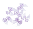 Light Orchid Pearl Crossover Bow 6pk  3