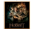 Lord of the Rings Hobbit Characters Multi Fabric Panel