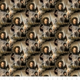Lord of the Rings Return of The King Collage Multi Fabric