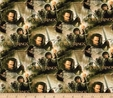 Lord of the Rings Return of The King Collage Multi Fabric Crafting 2