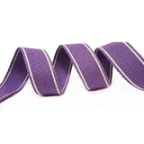 Lupin Purple Heavy Duty Webbing Fabric For Bag Straps 34mm